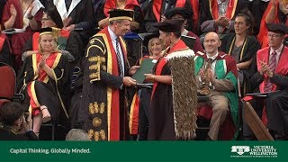 Victoria University of Wellington Graduation December 2018 Ceremony 3