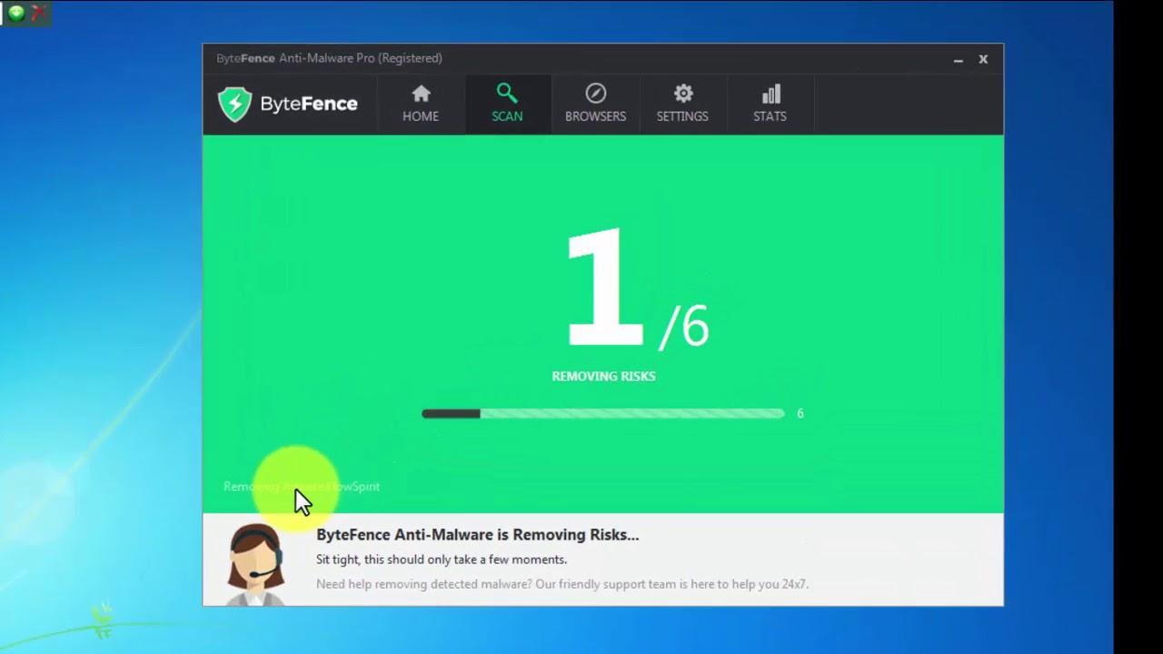gratuitement bytefence anti-malware