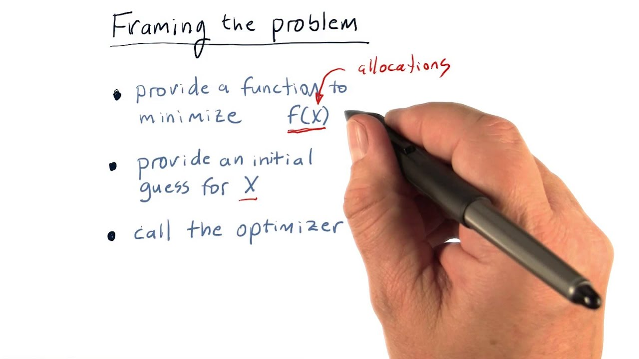 Framing the problem - YouTube