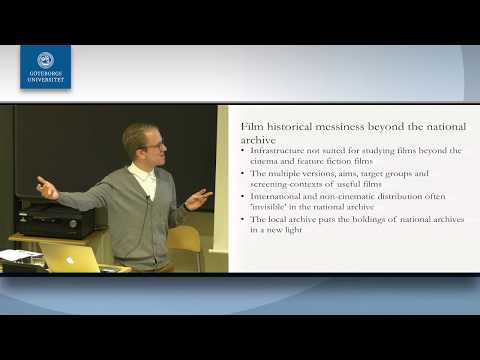 Erik Florin Persson - New Film Historical Research beyond the National Archive