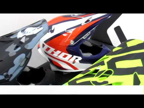 THOR SECTOR OFFROAD HELMET - PRODUCT VIEW