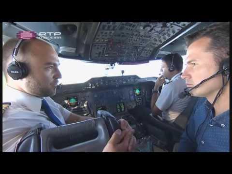 Reportagem RTP Madeira - Comandante Cláudio Alves Azores Airlines