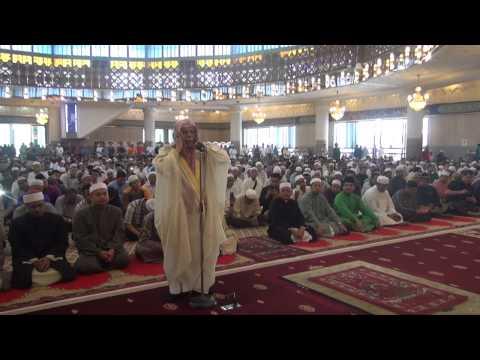Azan Makkah Syeikh Ali Ahmad Mullah di Masjid Negara