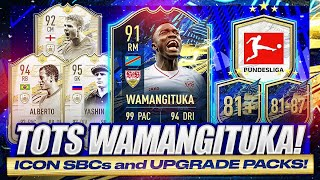 91 TOTS WAMANGITUKA SBC! END GAME 94 MOMENTS ALBERTO SBC! 85+ BUNDESLIGA PP! FIFA 21 Ultimate Team