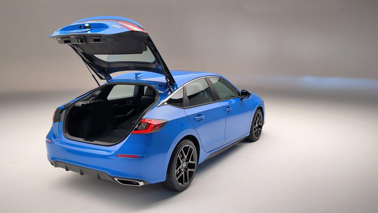 2022 Honda Civic Hatchback - Studio Walk Around