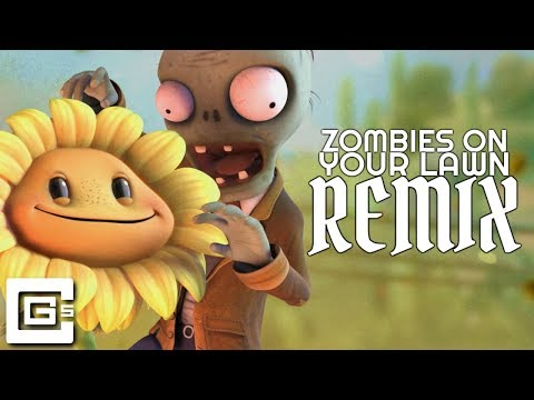 Plants Vs Zombies - Zombies On Your Lawn (Remix/Cover) [feat. Nenorama] | CG5