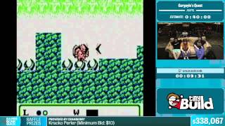 Gargoyle's Quest by unusualcook in 33:47 - Summer Games Done Quick 2015 - Part 69