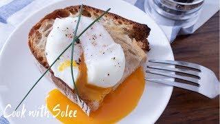 水波蛋做法 早餐食譜 Perfect Poached Eggs Breakfast Ideas