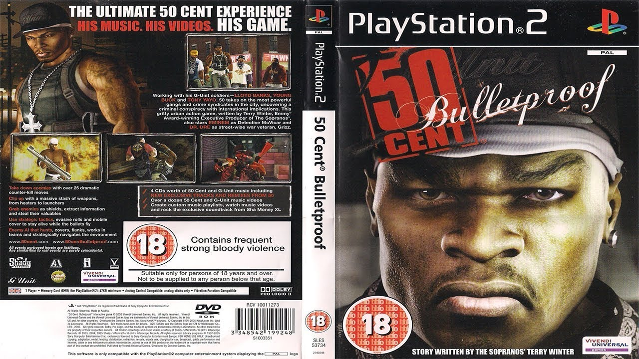 50 Cent Bulletproof Special Features Showcase Youtube