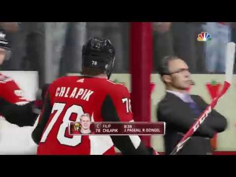 NHL 19 - Minnesota Wild Vs Ottawa Senators Gameplay - NHL Season Match Jan 5, 2019