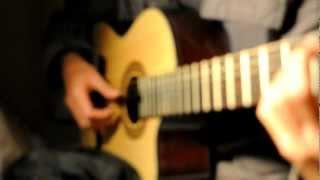 Tôi ru em ngủ acoustic guitar - Lê Văn Chân