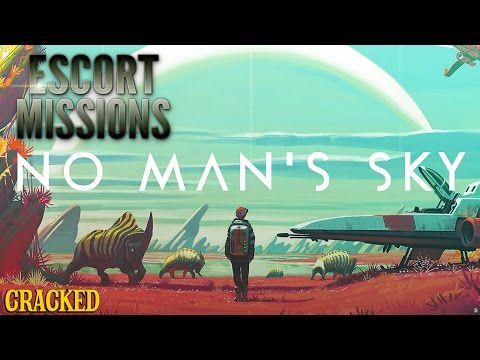 Why No Man's Sky Reminds Us Of Our Existential Nightmare - Escort Mission