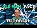 nba 2k17 old man face creation