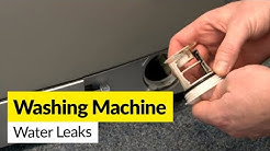 How to Identify Water Leaks on a Washing Machine