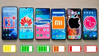 OnePlus 7 Pro vs P30 Pro vs Galaxy S10+ vs XS Max vs Mi 9 | TEST BATERIA EXTREMO!!