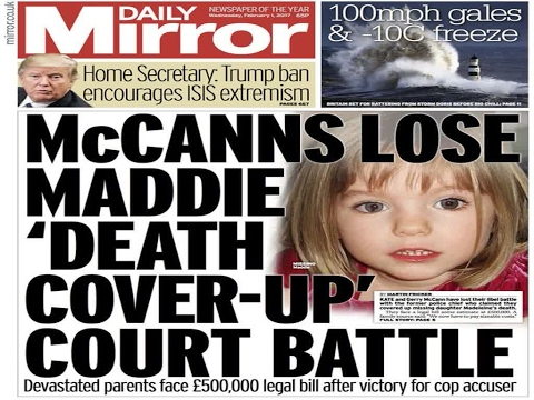 Kate And Gerry Mccann 'Not Formally In The Clear' Over Daughter Madeleine's Disappearance