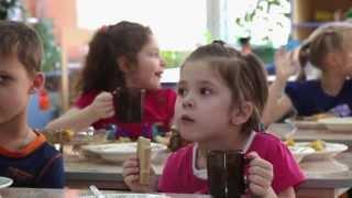 Детский сад. Обед