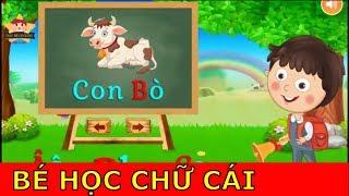 Day Be Hoc Online - Dạy Bé Học Chữ Cái Tiếng Việt Vui Nhộn và Sinh Động