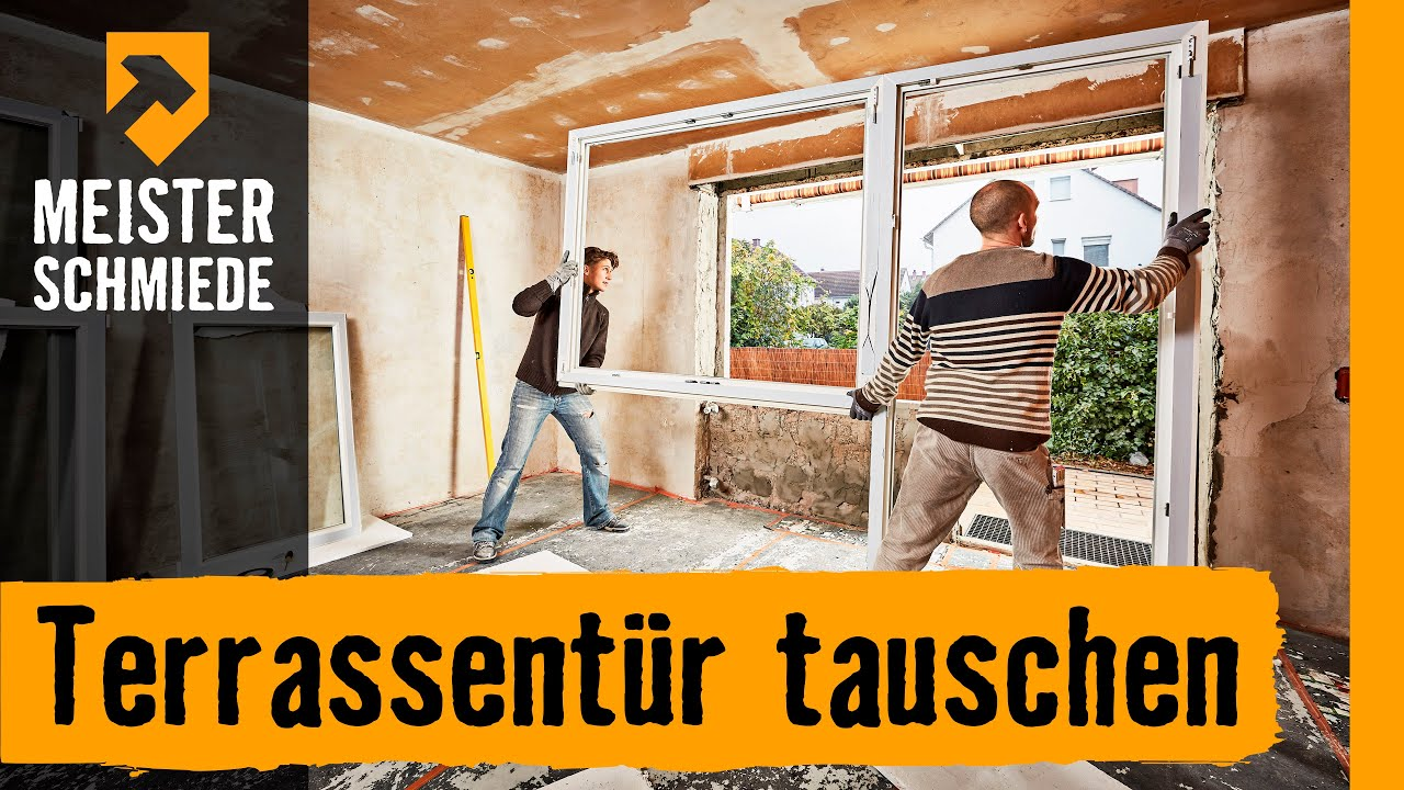 Extrem Terrassentür tauschen | HORNBACH Meisterschmiede - YouTube JB15