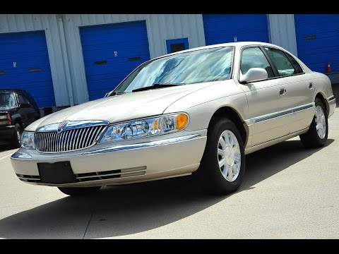 Davis AutoSports 2002 Lincoln Continental For Sale Only 38k Miles