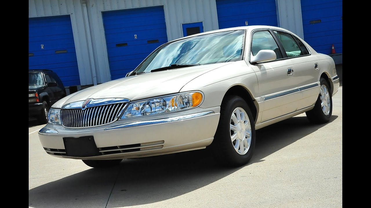 davis autosports 2002 lincoln continental for sale only 38k miles youtube. Black Bedroom Furniture Sets. Home Design Ideas