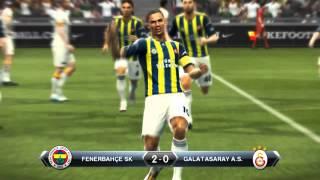 Fenrbahçe - Galatasaray Derbi Maçı Pes2013
