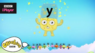 "Learn letter ""y"" with the Alphablocks Magic Words 