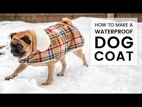 DIY Waterproof Dog Coat