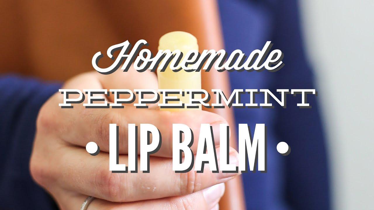 Make Homemade Peppermint Lip Balm