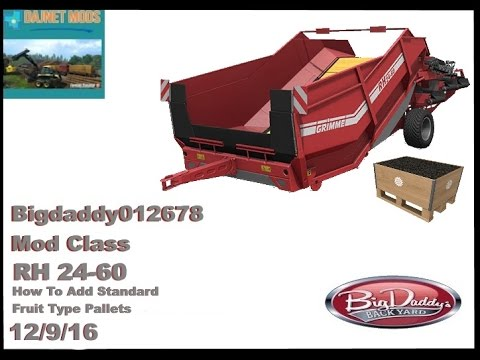 RH_24-60 Conveyor How To Add All Standard Fruit Types To Pallets