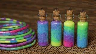 Волшебные кулоны бутылочки своими руками / Браслеты своими руками / DIY Magic bottle charms ideas