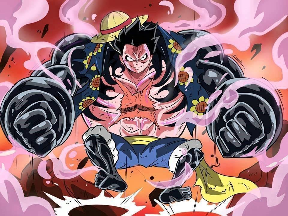 【Monkey D. Luffy VS ... One Piece Wallpaper Luffy Gear Fourth