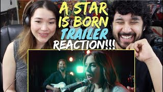 A STAR IS BORN - Official TRAILER REACTION & REVIEW!!!