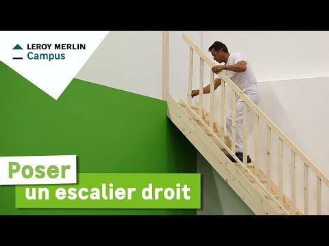 Comment Calculer Et Construire Un Escalier Droit Cours