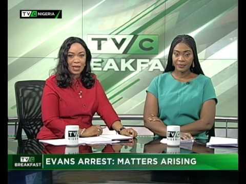 TVC  Breakfast 20th June 2017    Evans Arrest: Matters Arising