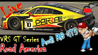 Road America, VRS GT Series, Iracing, Audi R8 LMS GT3