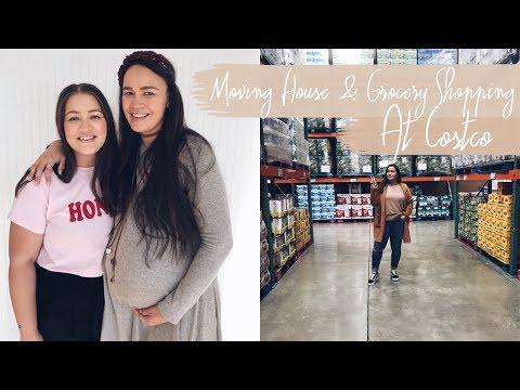 AMERICA VLOG  |  MOVING HOUSE, COSTCO GROCERY SHOPPING & CRACKER BAREL  |  LeChelle Taylor AldridgeG