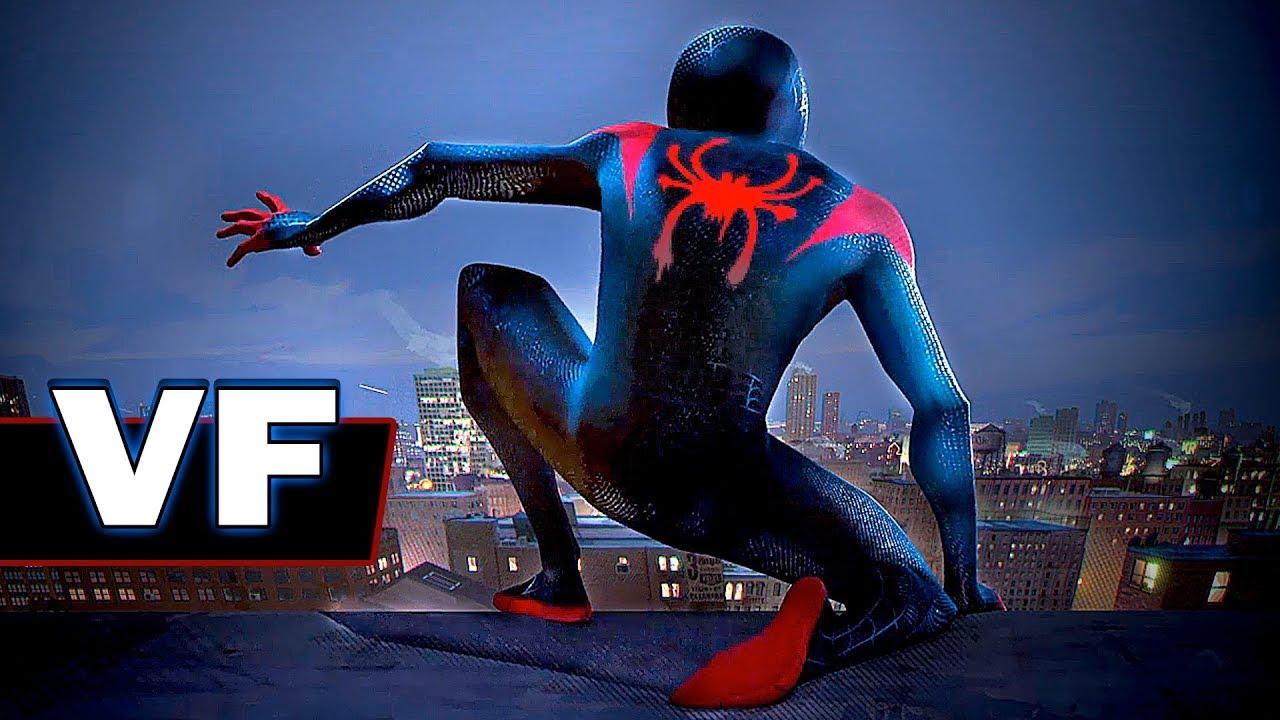 Spiderman nouvelle g n ration bande annonce vf du film - Dessin spider man ...