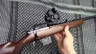 cz 527 carbine in 7 62x39 with primary arms micro red dot on cz weaver rail