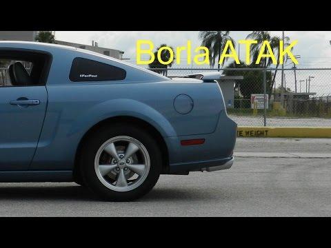 2007 Mustang Gt Borla ATAK catback exhaust