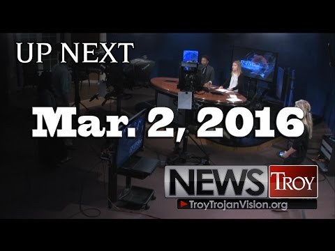 TROY TrojanVision News 3/2/16