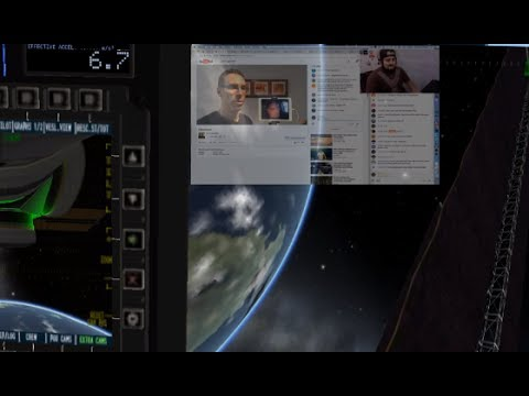 DesktopStream - Kerbal Space Program - Defango and the fleet of alien trolls #sethrich