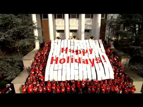 Holiday Greetings from the University of Maryland 2008