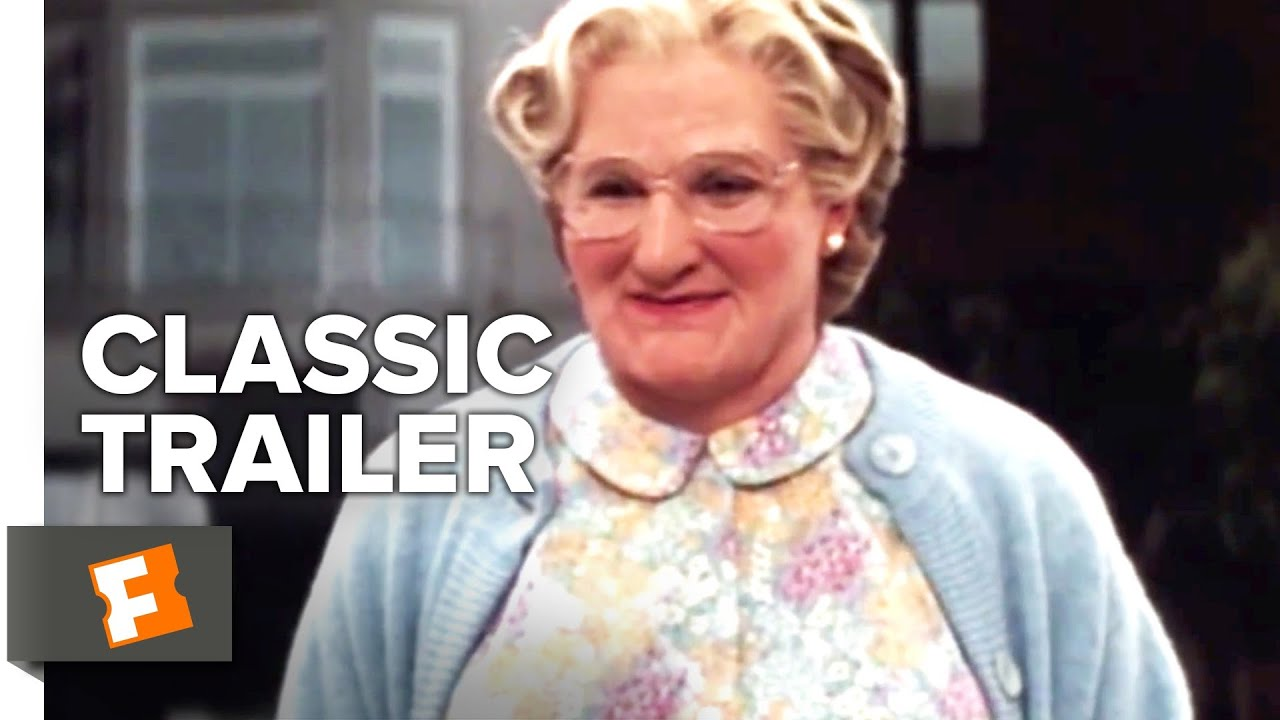 Mrs Doubtfire 1993 Trailer 1 Movieclips Classic Trailers Youtube