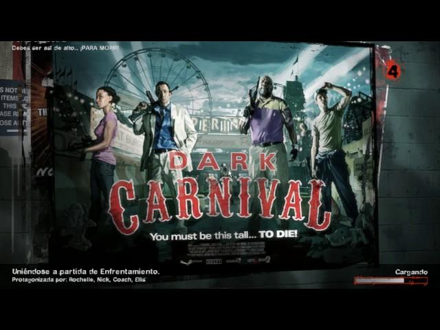 Left 4 Dead 2 Enfrentamiento (solo) Dark Carnival #2