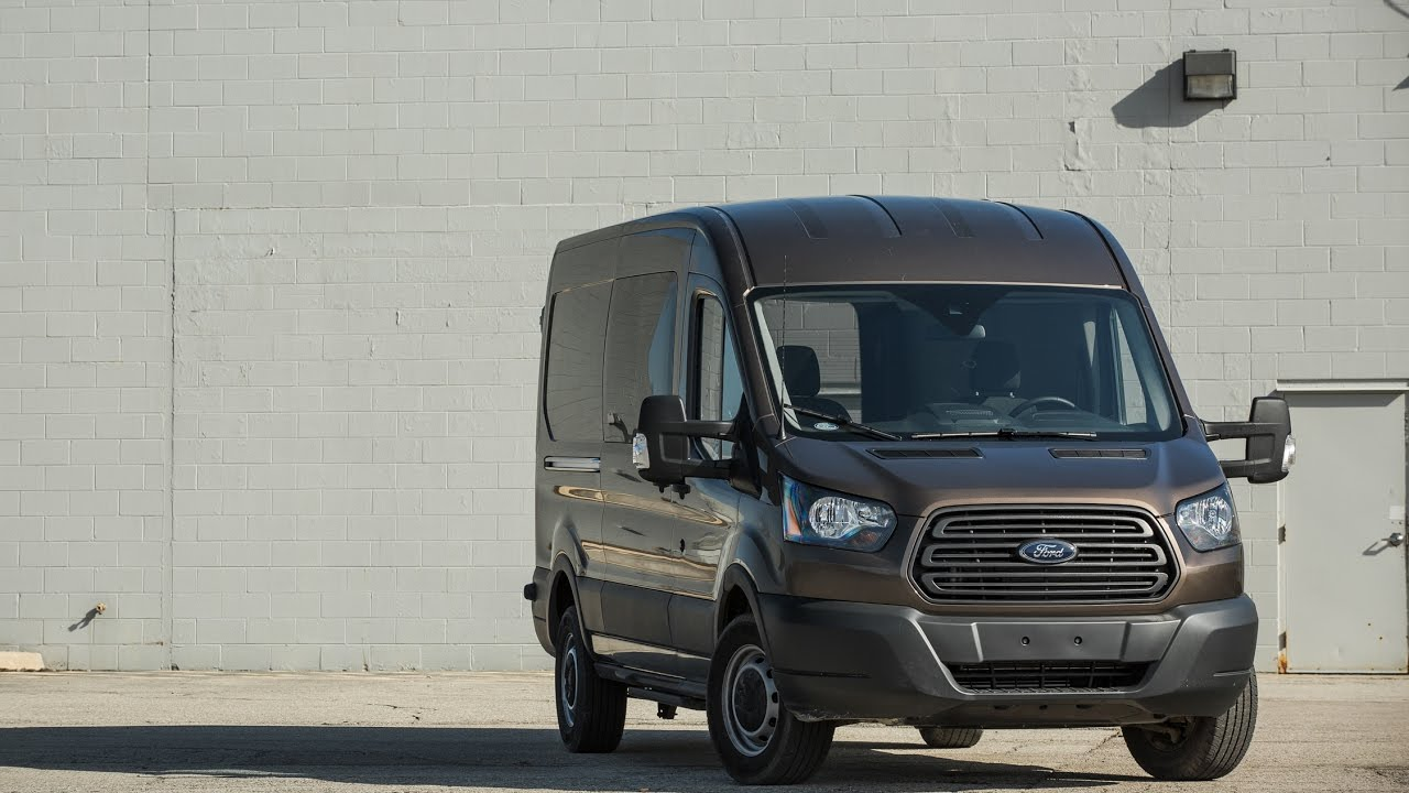 Ford Transit 350 Cargo Van EcoBoost V-6 2018 Car Review