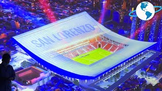 Finalmente San Lorenzo presenta su Futuro Estadio - Detalles a fondo del mas moderno de Argentina