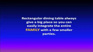 Dining Table | Dining Table Tips | Furniture Dining Table Guide
