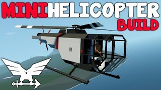 Mini Dragonfly Build - Stormworks: Build and Rescue - Helicopter Build