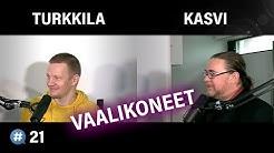 Manipuloidaanko vaalikoneilla äänestäjiä? (Jyrki Kasvi & Matias Turkkila)   #puheenaihe 21